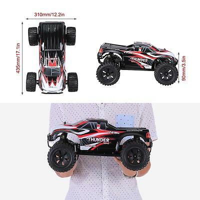 ZD Racing NO.9106 Thunder ZMT-10 2.4GHz 4WD 1/10 RTR Brushless Truck RC Car B8I7