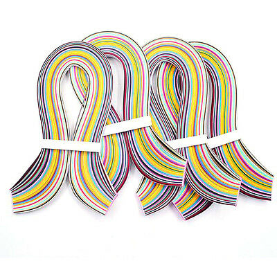 Paper Quilling 36 Colors,540mm Length,3/5/7/10mm Width,720 Strips total