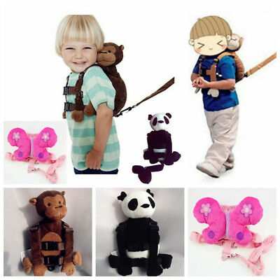 Child Baby Kid Keeper Toddler Walking Safety Harness Backpack Bags Strap Rein