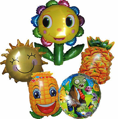 Plants Vs Zombies Balloon Birthday Party Supplies Decor Centerpiece Gift Favor