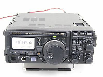 YAESU FT-897D HF100W~430MHz20W JUNK ITEM Free Shipping Tracking Number
