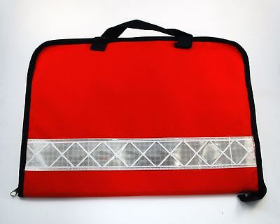 Intubation Pouch/Wallet - Red - RRP £14.99