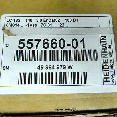 LC 183/100NM ML 140 Heidenhain OVP 557 660-01 557660-01 (Netto:1050eur)