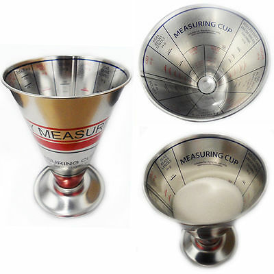 Dry Food Measuring Cup Scale Kitchen Metal Weighing Grocery Grams Cooking Tool