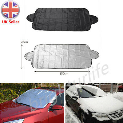 Car Windshield Frost Cover Windscreen Sun Block Shade Visor Snow Rain Protector