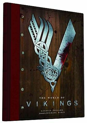 The World of Vikings by Justin Pollard (English) Hardcover Book
