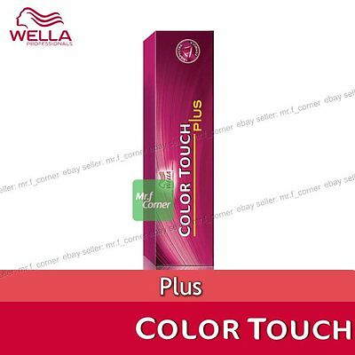 Wella Color Touch Semi Permanent 60g Hair PLUS Dye NEW