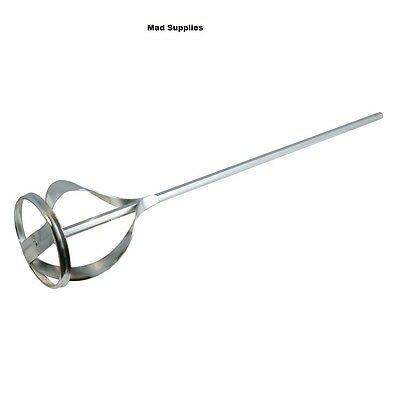 Mixing Paddle Hex Shank 60 X 430 Zinc Plated 868687