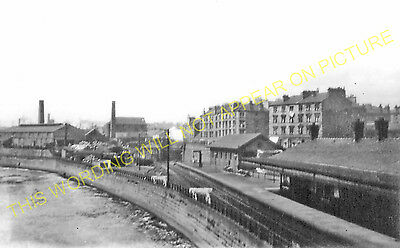 Partick Central Railway Station Photo. Glasgow - Whiteinch. Caledonian Rly. (3)