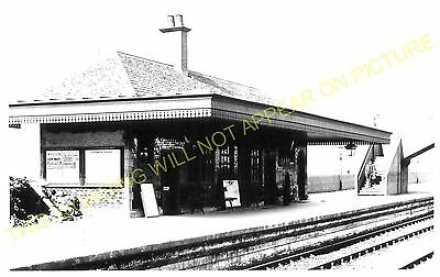 Partick West Railway Station Photo. Whitinch and Scotstoun Line. Caledonian. (1)