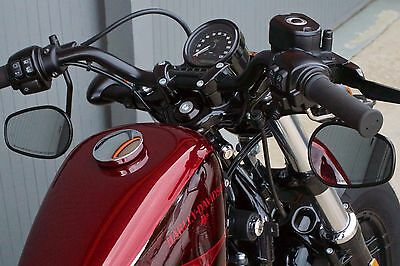 MANUBRIO nero HARLEY DAVIDSON sportster forty eight nightster roadster custom r
