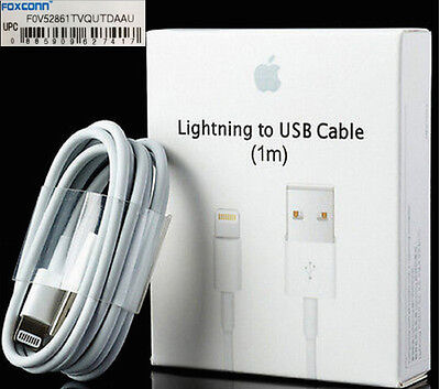 Original lightning USB Charger Cable for Apple iPhone 7 6S  6+ 6 + plus 5s 5 OEM