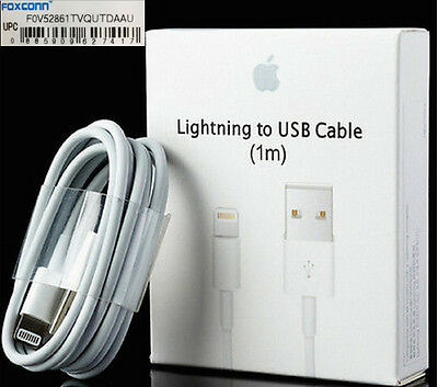 OEM Original lightning USB Charger Cable for Apple iPhone 7 6S & 6 &6plus 5s 5