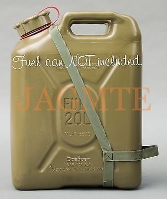 EASY POUR STRAP Fuel Olive Drab for your Scepter MFC Military Fuel Gas Jerry Can