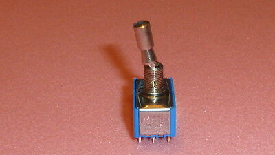 NEW 1PC APEM 5666A 2V Miniature toggle switches 5000 Series ON-NONE-ON 12-PIN