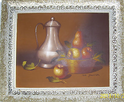 Original Signed by Artist Oil Painting on Canvas-Framed
