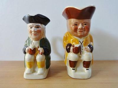 2 Vintage Tony Wood Toby Jug / Mini Philpot