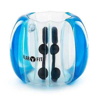 Air Filled Bubble Ball Kids Fun Water  Outdoor Sports Activity  PVC Blue