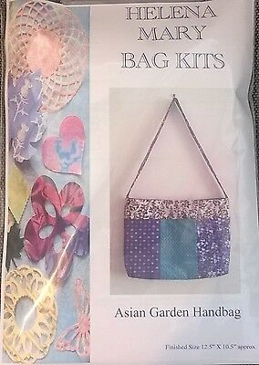 Helena Mary Bag Making Kit Complete Kit - Asian Garden Handbag