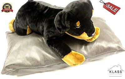 100% Genuine FAUX LEATHER DOG PET BED CUSHION PILLOW, COVER -110 X 70CM EX LARGE