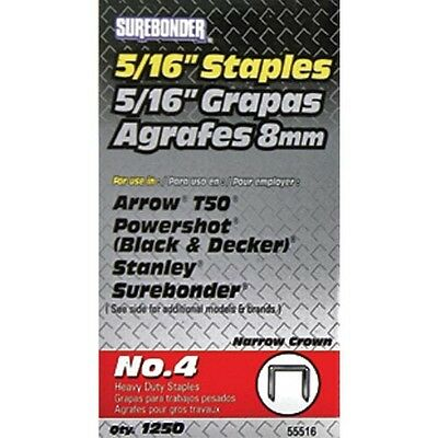 Surebonder #4 Heavy-Duty Staples  - 5/16""