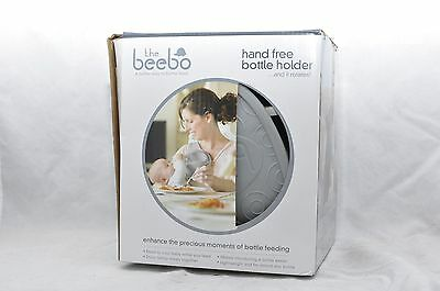 The Beebo Hands Free Baby Bottle Feeder Holder Better Way Multitask Charcoal