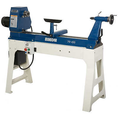 Rikon 70-450 20in. X 37in. 1-1/2HP Variable Speed Lathe