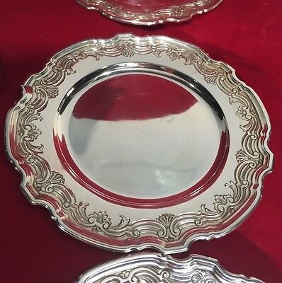 ONE Tiffany & Co Solid Sterling Silver Bread Butter Plate Wine Bottle Coaster