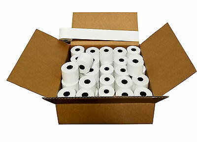 "2-1/4"" X 230' (100 Rolls) Cash Register Thermal Paper Case POS BPA FREE"