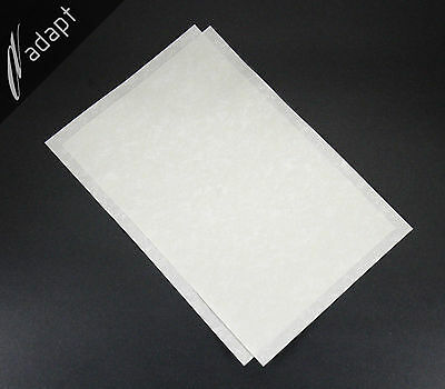 """Nomex 410 Insulation Paper 2 mil thick 2 each 8""""x12"""" Sheets Aramid Electrical"""