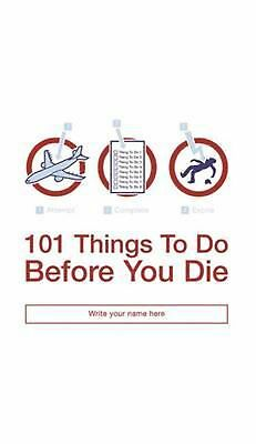 101 Things to Do Before You Die by Richard Horne (English) Paperback Book