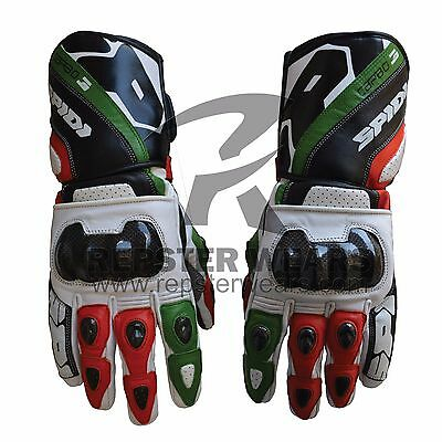 Spidi Motorbike Racing Leather Gloves
