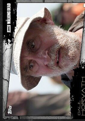 Dale Horvath-Close Up-Topps Walking Dead Card Trader