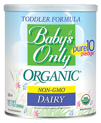 6 PACK - Baby's Only Organic DAIRY NON-GMO Toddler Formula, 12.7oz Can
