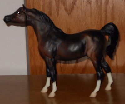 Breyer Classic Black Stallion Model, Chocolate Bay Arabian
