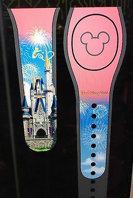 Pink Cinderella Castle MagicBand 2 Magic Band Disney Parks *Link It Later*
