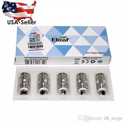 5 X ELeaf2 EC Coils Replacement for iJust2 S Melo 2 Melo 3 Istick Pico 75W