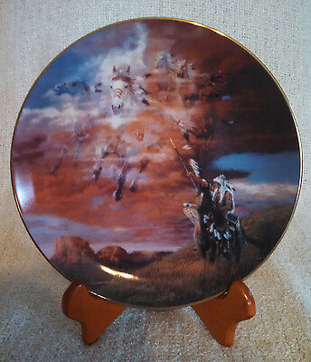Native Visions Bringer's Of The Storm Plate Art Low Serial Number COA Mint Cond