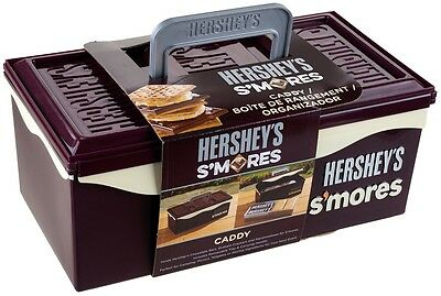 New Hersheys Smores Caddy with Removable Tray and Carrying Handle