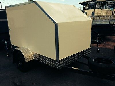 Enclosed Alupanel Trailers - All Sizes And Designs Starting From.
