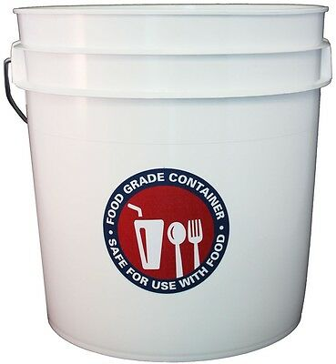Letica 2-Gallon Residential Bucket, NEW