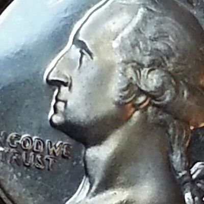 Very Rare 1965 Frosted Proof Washington Quarter Ms+ Sms