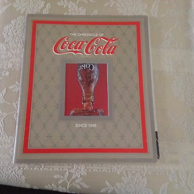 Vtg Booklet The Chronicle Of Coca-Cola Since 1886 - 8 1/2 X 10 With 24 Pages