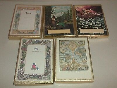 Antioch Book Plates Self Stick Labels Lot of 109 All Perfect - 5 Diff Atlas Ark