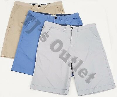 New Men's Jach's Flat Front Chino Casual Shorts, Multiple Options