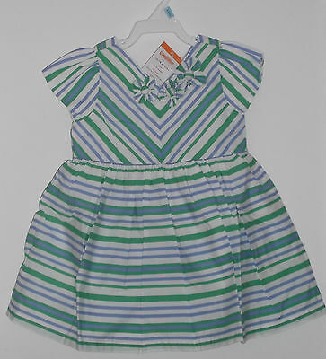 NWT Gymboree Baby Girl Summer Dress Fully Lined  Size 12 - 18 Months