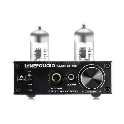 Tube Headphone Amplifier HiFi Preamp PC USB Sound Card Mini Kopfhörerverstärker