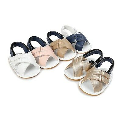 Baby Sandals Infant Kids Girls Boys Casual Soft Sole Crib Toddler Summer Shoes