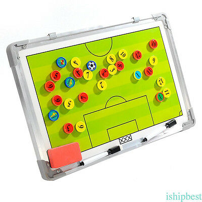 Soccer Football Tactical Coaching Strategy Board magnetic plate Aluminum alloy