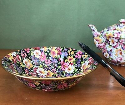 James Kent Soup Cereal Bowl in Lydia, Du Barry or Ruth Kent Chintz China NEW